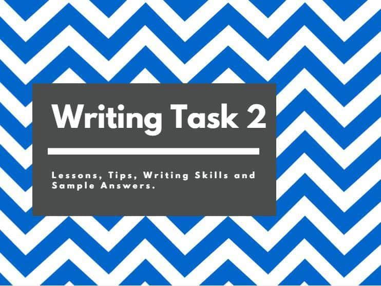 Cấu trúc thường gặp trong IELTS Writing Task 2